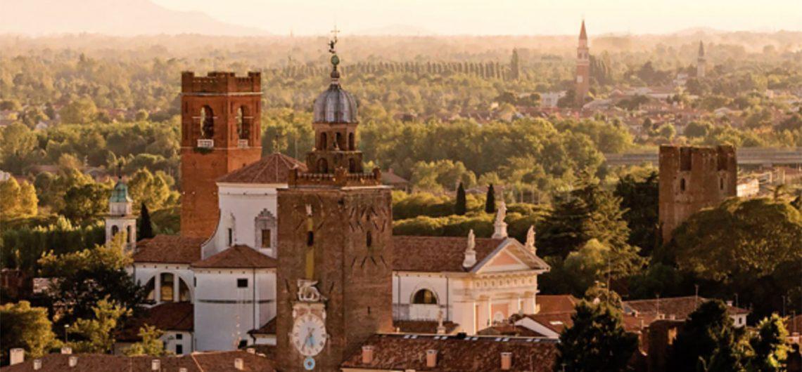 view of Castelfranco Veneto